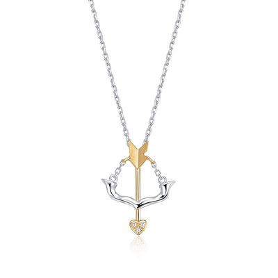 Sagittarius射手座 1分彩18K金钻石吊坠
