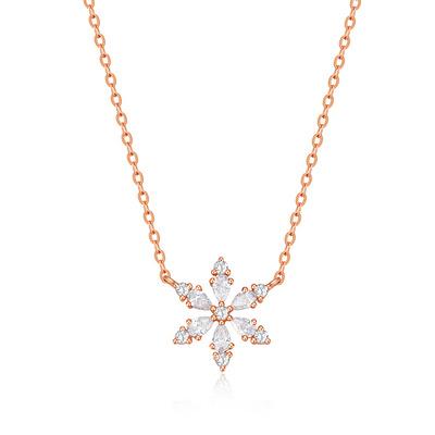 伯利恒之星 22分红18K金钻石套链
